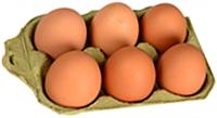 Natural Farm brown Eggs - 6