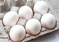 Natural Farm white Eggs - 6